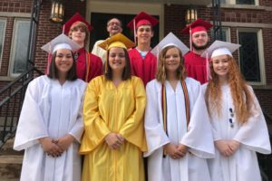 St. Mark Church And Father Paul Honored Their Graduating Seniors At  Sundayu0027s Mass. Those Seniors Attending Were, Front Row (l To R) Kira  Aikens, ...